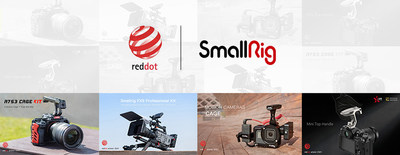 SmallRig's four products won Red Dot Design Award 2021