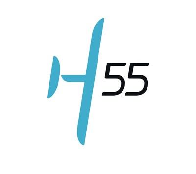 H55 logo.