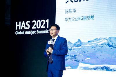 Bob Chen, vicepresidente de Huawei Enterprise BG (PRNewsfoto/Huawei)