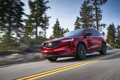 Honda and Acura brands, American Honda, set multiple sales records in March, with the Acura MDX setting an all-time best monthly record, helping Acura SUVs to their best sales month as well. (PRNewsfoto/American Honda Motor Co., Inc.)