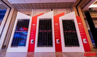 Módulos de la serie Hi-MO 4m de LONGi (PRNewsfoto/LONGi Solar)