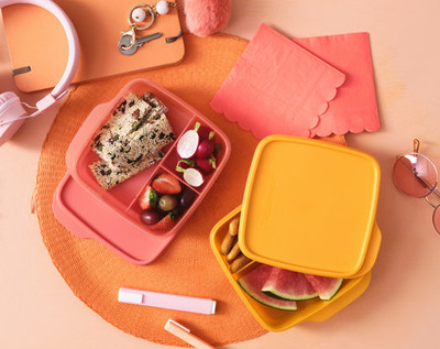 Tupperware announced the expansion of its ECO+, the brand's revolutionary product portfolio made with sustainable material, with two new products, Lunch-It® Containers and Sandwich Keepers as well the addition of a new material partner, Tritan™ Renew from Eastman.