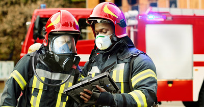 Getac K120 is a versatile, all-purpose solution for firefighting professionals