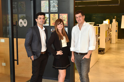 SAM Seamless Network Co-Founders: Eilon Lotem, CTO; Sivan Rauscher, CEO; Shmuel Chafets, Vice Chairman