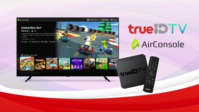 True Digital partnering with AirConsole to offer unique gaming experiences for TrueID TV users