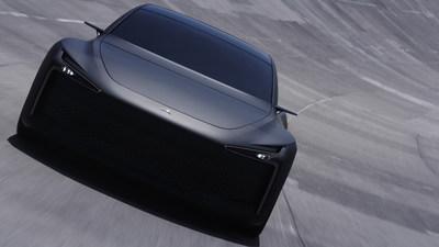 Hopium Machina Alpha 0 Test Drive Front View