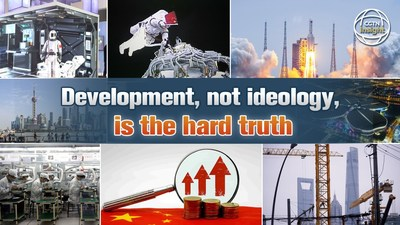 Development, not ideology, is the hard truth