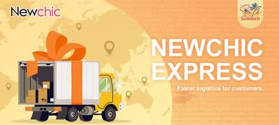 Newchic Express ofrece servicio de entregas más rápido para los clientes (PRNewsfoto/Newchic Company Limited)